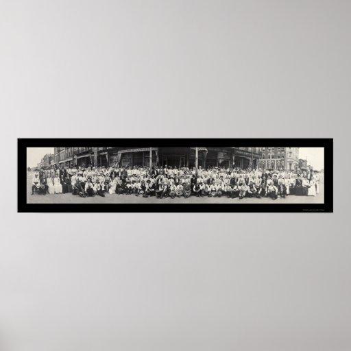 Lawrence KS Massacre Photo 1913 Print