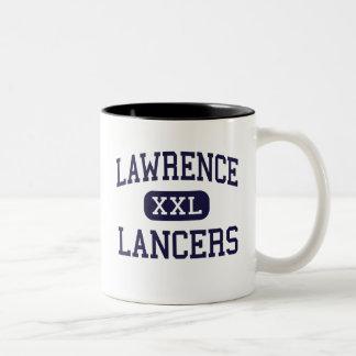 Lawrence - Lancers - High - Lawrence Massachusetts Two-Tone Coffee Mug