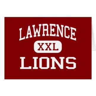 Lawrence - Lions - High School - Lawrence Kansas Greeting Card