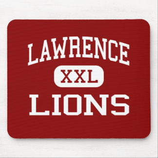 Lawrence - Lions - High School - Lawrence Kansas Mouse Pads