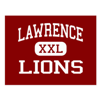 Lawrence - Lions - High School - Lawrence Kansas Post Cards