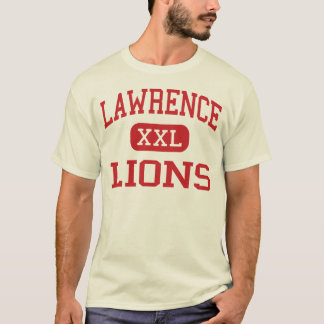 Lawrence - Lions - High School - Lawrence Kansas T-Shirt