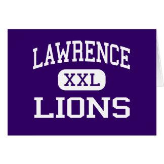 Lawrence - Lions - Junior - Las Vegas Nevada Greeting Cards