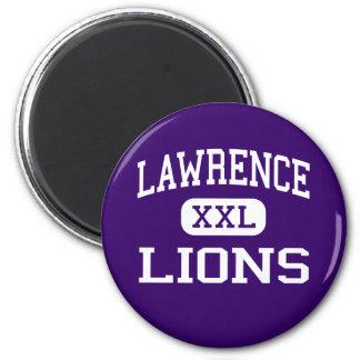 Lawrence - Lions - Junior - Las Vegas Nevada Magnets