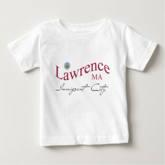 Lawrence MA - Immigrant City Baby T-Shirt