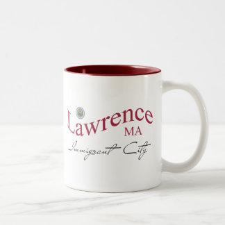 Lawrence MA - Immigrant City Two-Tone Coffee Mug