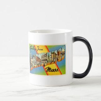 Lawrence Massachusetts MA Vintage Travel Souvenir Magic Mug