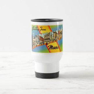 Lawrence Massachusetts MA Vintage Travel Souvenir Travel Mug