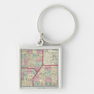 Lawrence, Mercer, Beaver, Butler counties Keychain