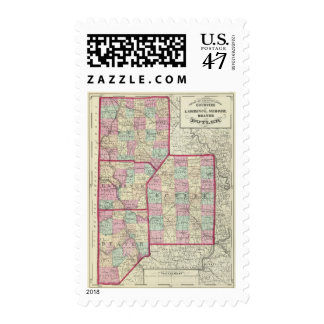 Lawrence, Mercer, Beaver, Butler counties Postage