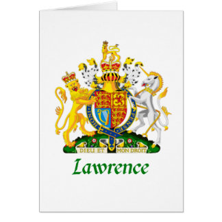 Lawrence Shield of Great Britain Card