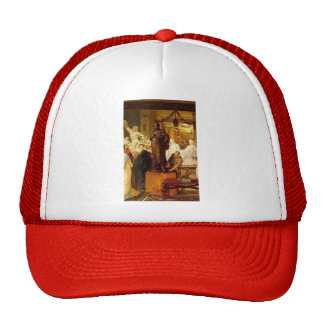 Lawrence Tadema: A Sculpture Gallery in Rome Trucker Hats