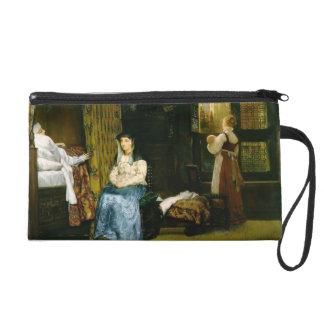 Lawrence Tadema- Birth Chamber Seventeenth Century Wristlet Purses