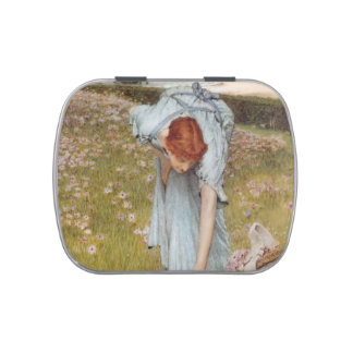 Lawrence Tadema:Flora Spring in the Gardens Jelly Belly Tins