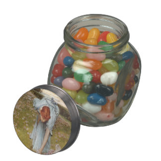 Lawrence Tadema:Flora Spring in the Gardens Jelly Belly Candy Jar