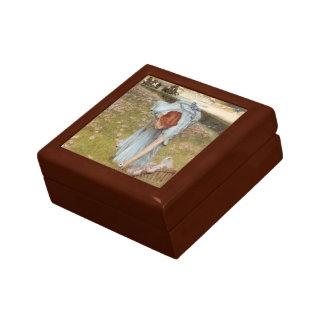 Lawrence Tadema:Flora Spring in the Gardens Keepsake Box