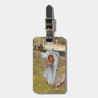 Lawrence Tadema:Flora Spring in the Gardens Bag Tag