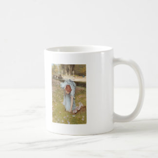 Lawrence Tadema:Flora Spring in the Gardens Coffee Mugs