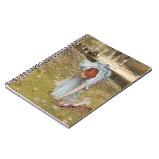Lawrence Tadema:Flora Spring in the Gardens Notebooks