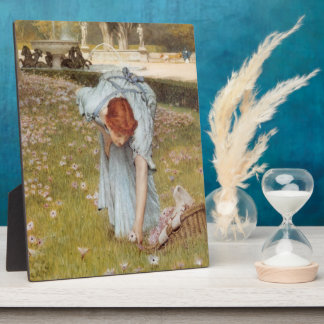 Lawrence Tadema:Flora Spring in the Gardens Display Plaques