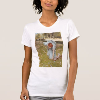 Lawrence Tadema:Flora Spring in the Gardens Tshirt