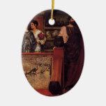 Lawrence Tadema- Hadrian Visiting British Pottery Ornament