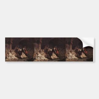Lawrence Tadema: Massacre of the Monks of Tamond Bumper Sticker