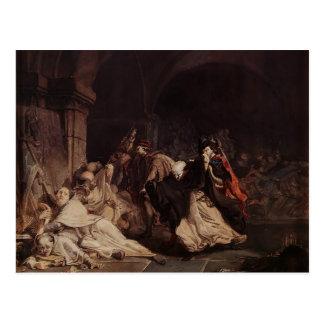 Lawrence Tadema: Massacre of the Monks of Tamond Postcard