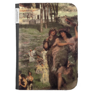 Lawrence Tadema-On the Road to the Temple of Ceres Kindle 3G Cases