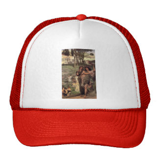 Lawrence Tadema-On the Road to the Temple of Ceres Trucker Hat