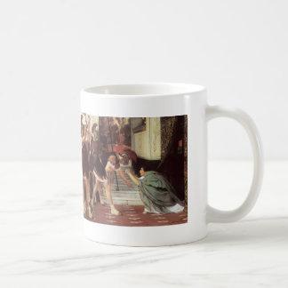 Lawrence Tadema- Proclaiming Claudius Emperor Mugs