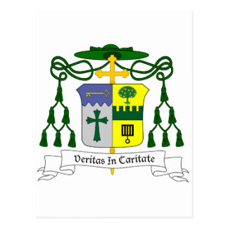 Lawrence Thomas Persico Bishop of Erie COA Postcard