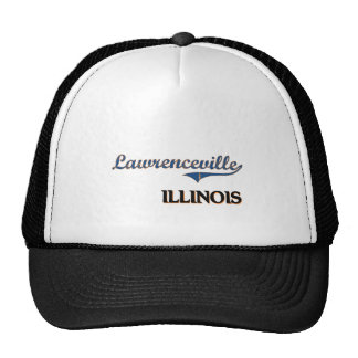 Lawrenceville Illinois City Classic Trucker Hat