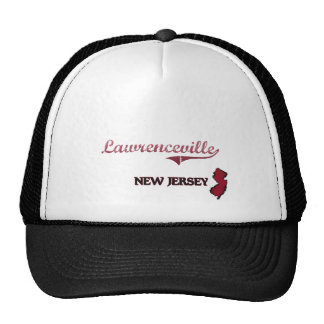 Lawrenceville New Jersey City Classic Trucker Hat