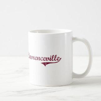 Lawrenceville Virginia Classic Design Classic White Coffee Mug