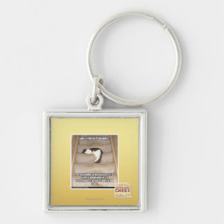Laws of Kitteh Probability Keychain