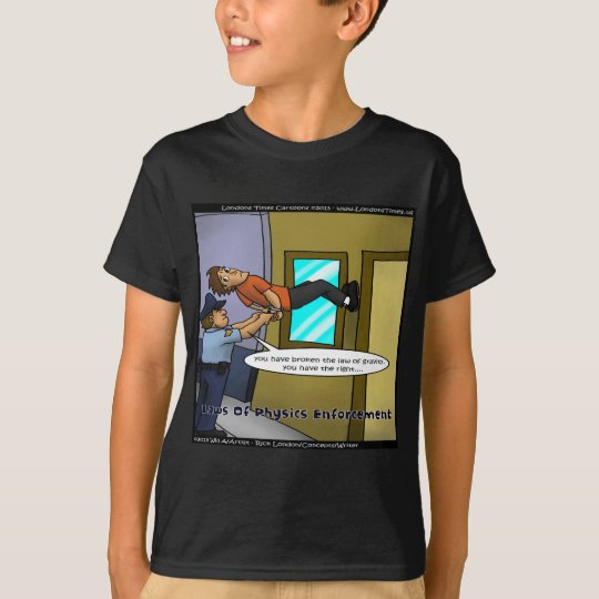 Laws Of Physics & Gravity Funny Gifts & Tees