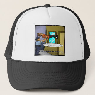 Laws Of Physics & Gravity Funny Gifts & Tees Trucker Hat