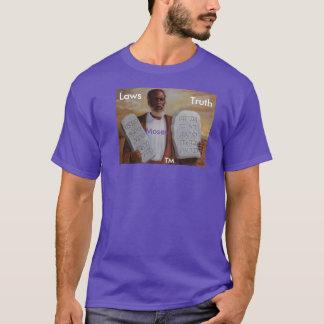 Law's & Truth-Men's Basic Dark T-Shirt