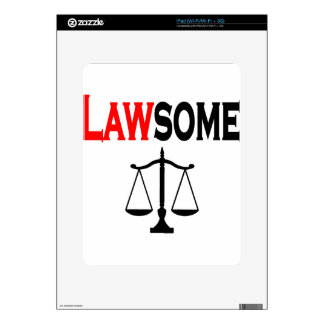 lawsome2 decal for the iPad