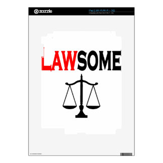 lawsome2 decal for the iPad 2