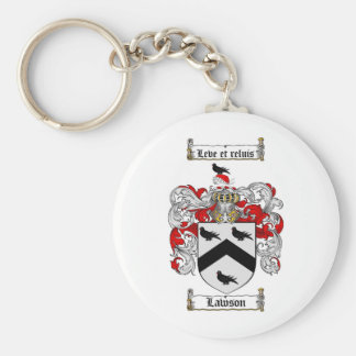 LAWSON FAMILY CREST -  LAWSON COAT OF ARMS KEYCHAIN