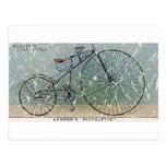 Lawson's Bicyclette-1879 - distressed Postcard