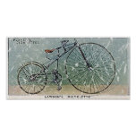 Lawson's Bicyclette-1879 - distressed Print