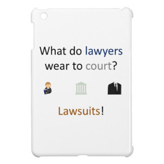 Lawsuits Joke Cover For The iPad Mini