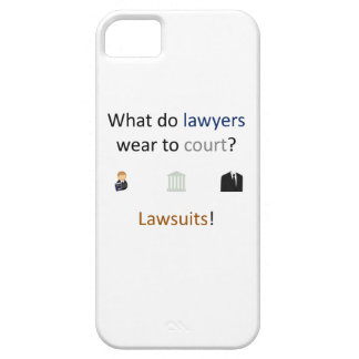 Lawsuits Joke iPhone SE/5/5s Case