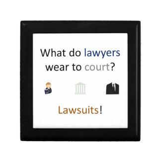 Lawsuits Joke Jewelry Box