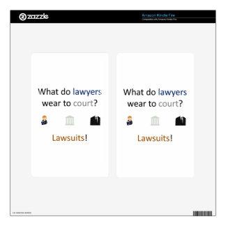 Lawsuits Joke Kindle Fire Skins