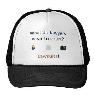 Lawsuits Joke Trucker Hat