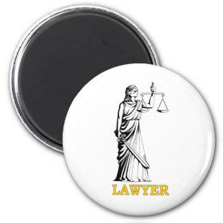 LAWYER 2 INCH ROUND MAGNET